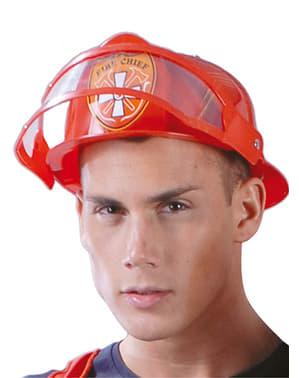 Επικεφαλής πυροσβέστη κράνος