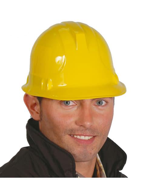 Casque d'ouvrier