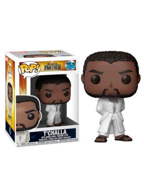 Funko POP! T'Challa with white robe - Black Panther