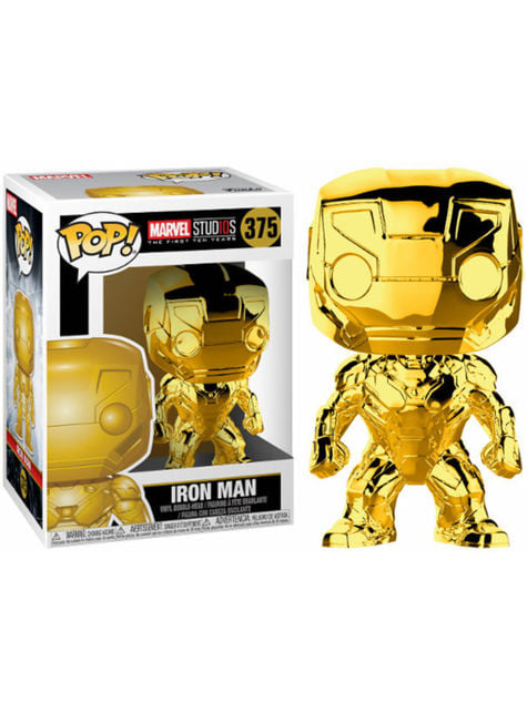 Funko POP! Iron Man dorado - Marvel Studios 10