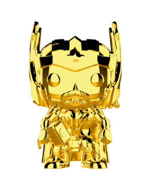 Funko POP! Iron Man Gold Chrome - Ulang Tahun ke-10 Studio