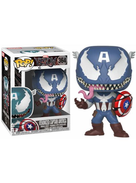 Funko POP! Captain America comme Venom - Venom