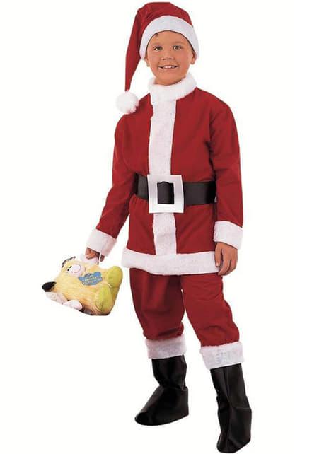 Disfraz de Papa Noel niño