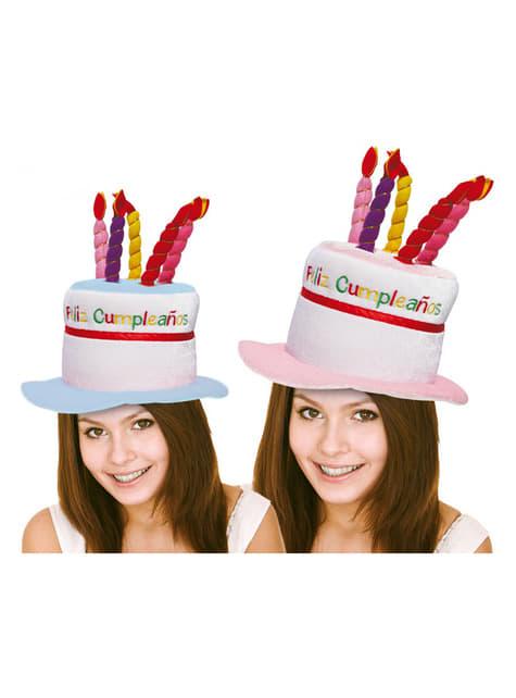 Chapeau de bon anniversaire