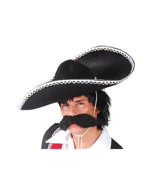 Chapéu de mexicano de feltro