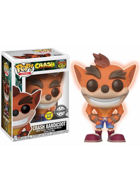 Funko POP! Crash Bandicoot edición fosforescente GITD