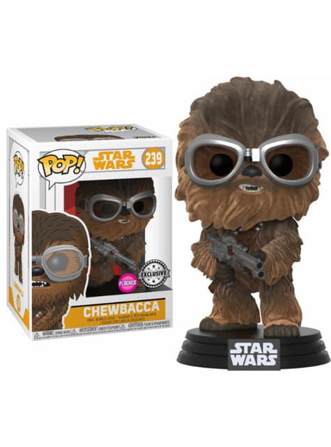 Funko POP! Chewie con gafas aterciopelado - Han Solo: una historia de Star Wars