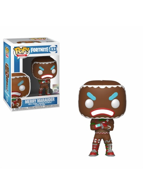 Funko POP! Galleta Merry Marauder - Fortnite