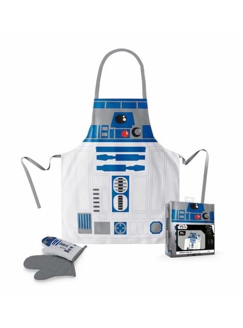 Juego de delantal y manopla R2-D2 - Star Wars