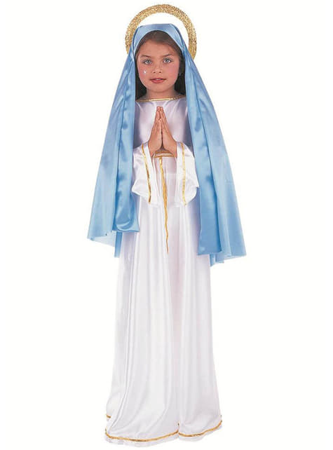 Fato de Virgem Maria para menina