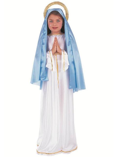 Kostium Matka Boska dla dziewczynki
