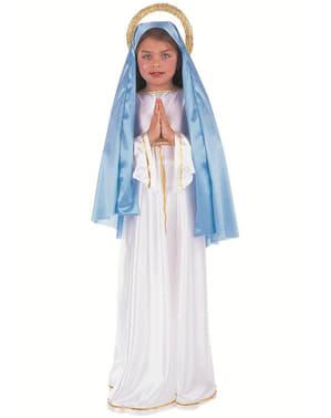 Déguisement de Vierge Marie pour fille