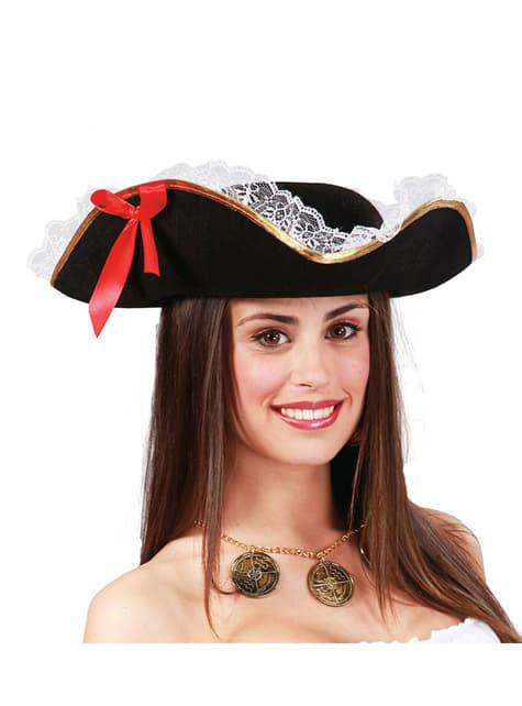 Лейди пиратска шапка