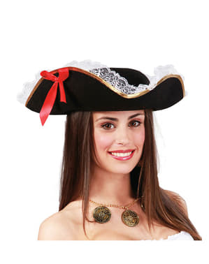 Dámský pirátský klobouk