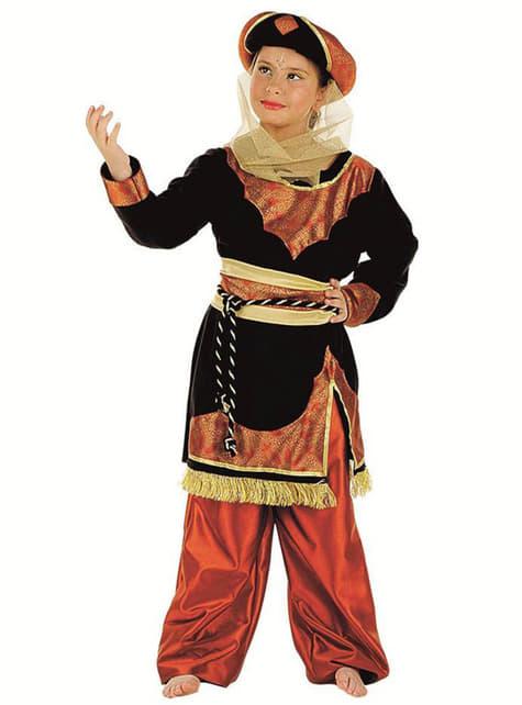 Elegant Arabian Princess Costume for Girls