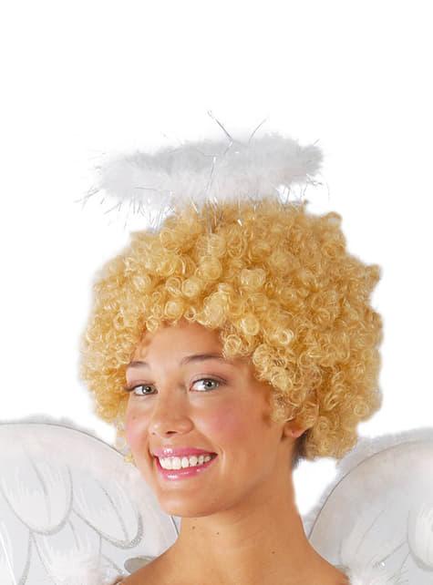 Opaska aniołka z piórami