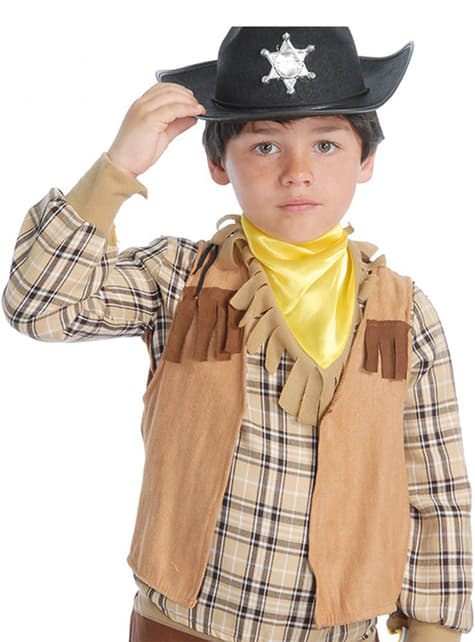 Kovbojská vesta pro nejmenší