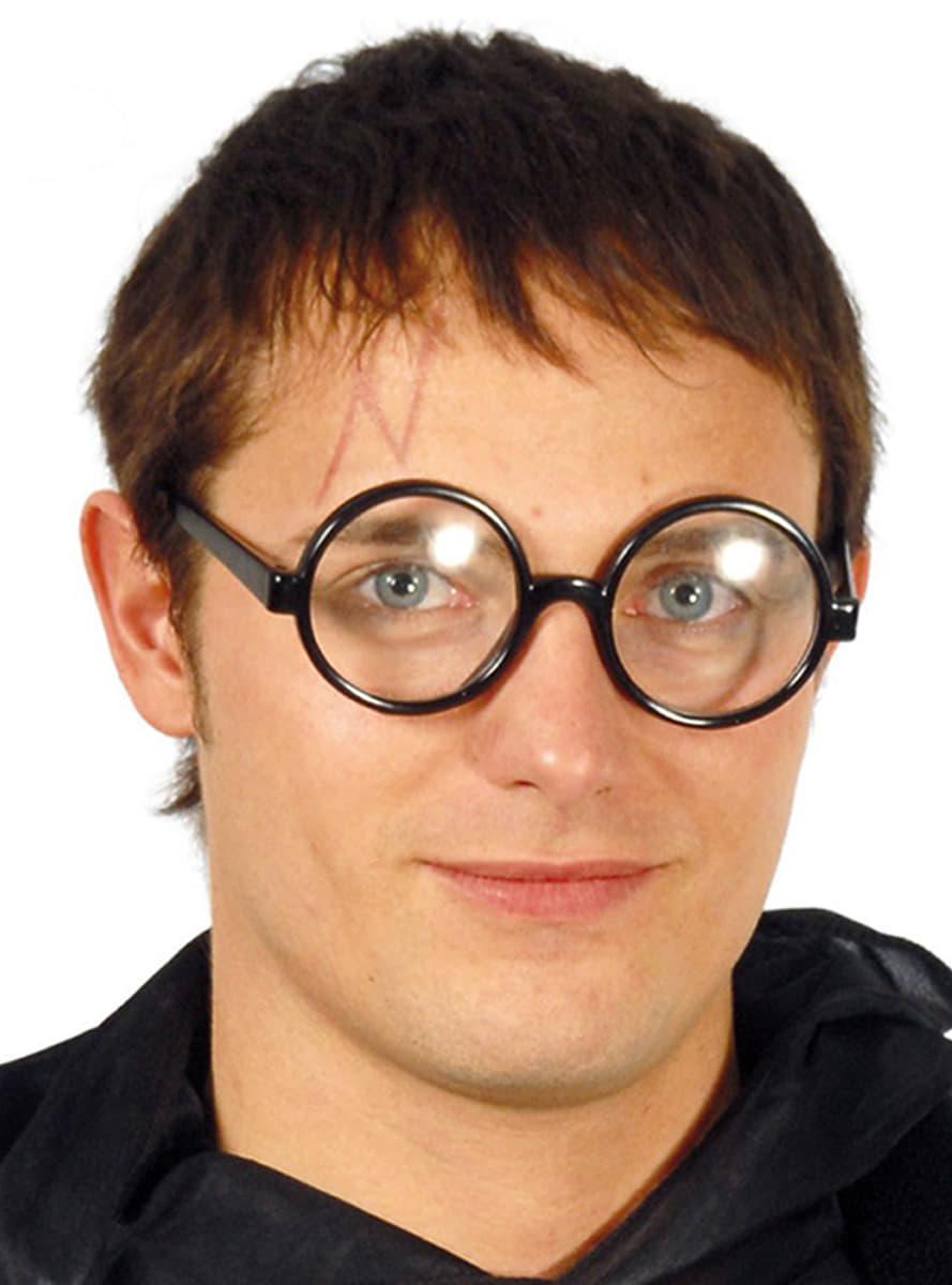 Lunettes rondes pour d guisement funidelia for Cuisinier lunettes rondes