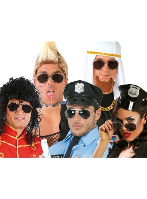 警察メガネ