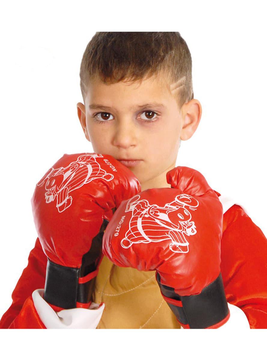 boxer handschuhe f r kinder f r kost m funidelia. Black Bedroom Furniture Sets. Home Design Ideas