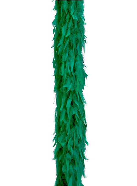 Grüne Federboa Classic