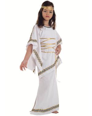 Gresk Ung Dame Kostyme Barn