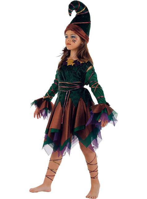 Disfraz de elfa niña