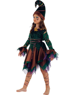 Elf Girl Kids Costume