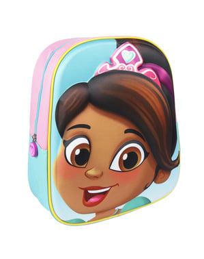 Mochila de Nella Una Princesa Valiente 3D infantil