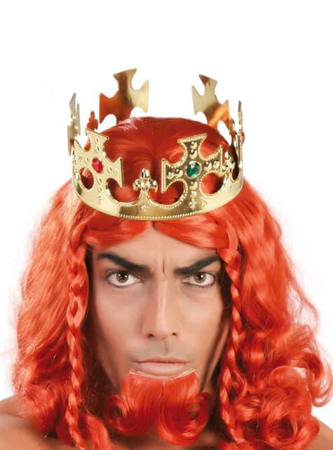 Goudkleurige koningskroon