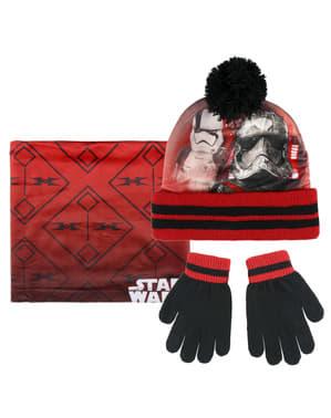 Set di guanti, berretto e scaldacollo per bambino di Stormtrooper - Star Wars