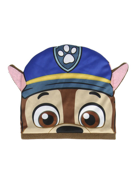 Set de gorro y tapacuello infantil de Chase - La Patrulla Canina