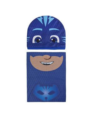 Set med mössa och halsduk för barn Kattpojken - PJ Masks