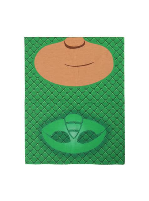 Gecko Mütze und Halswärmer Set für Kinder - PJ Masks