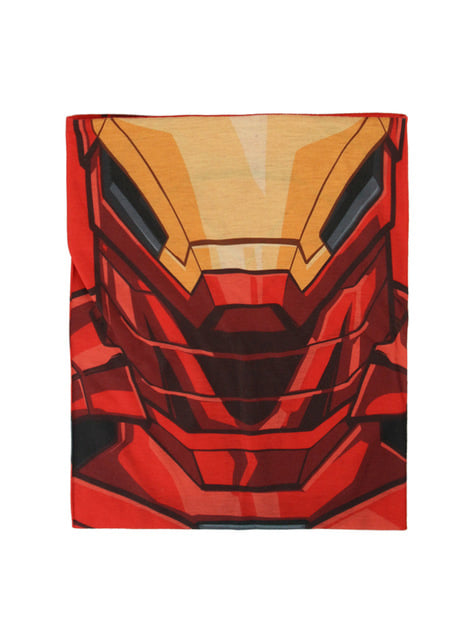 Iron Man Mütze und Halswärmer Set für Kinder - The Avengers