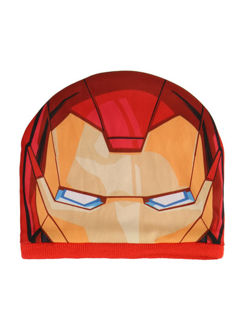 Set de gorro y tapacuello infantil de Iron Man - Los Vengadores