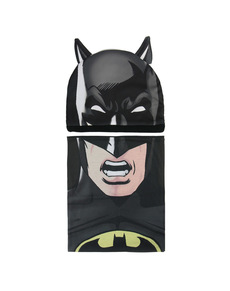 b52bc968c56 Batman beanie hat and snood set for kids ...