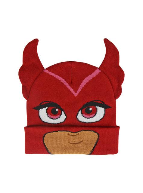Gorro de Corujinha com orelhas infantil - PJ Masks