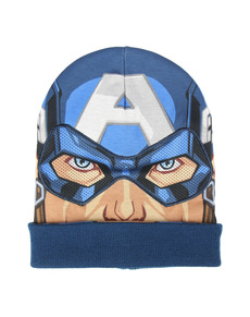 Captain America beanie hat with mask for kids - The Avengers ... 6101c7fe5e7