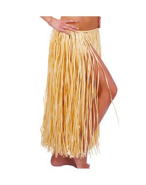 Jupe hawaïenne en paille