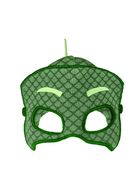 Gorro de Gekko con antifaz infantil - PJ Masks