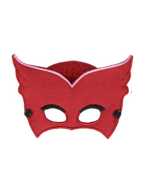 Gorro de Buhíta con antifaz infantil - PJ Masks
