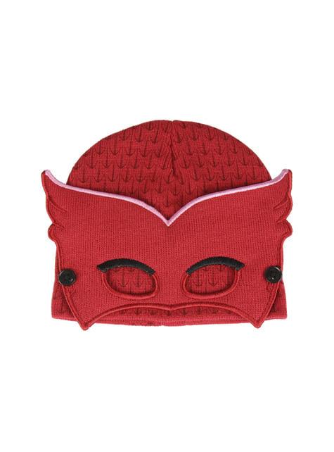 Gorro de Corujinha com mascarilha infantil - PJ Masks