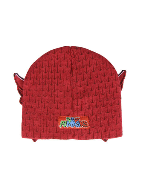 Owlette beanie hat with eye mask for kids - PJ Masks