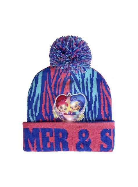 Shimmer and Shine beanie hat with lights for kids