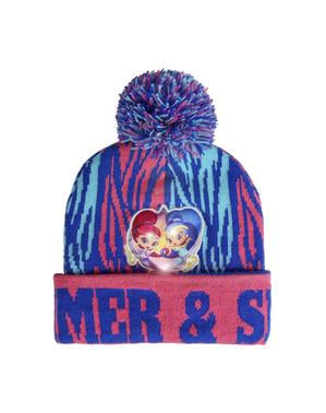 Shimmer and Shine beanie hat med lys til børn