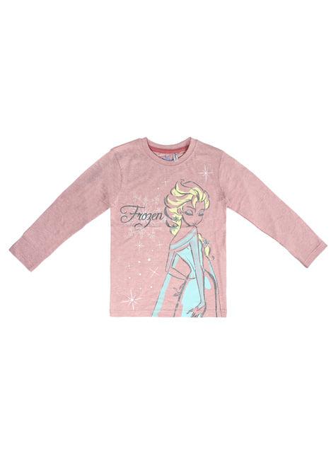 Frost Elsa T-shirt til børn