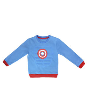 Captain America Sweatshirt für Kinder - The Avengers