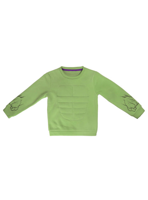 Sweatshirt de Hulk infantil - Os Vingadores
