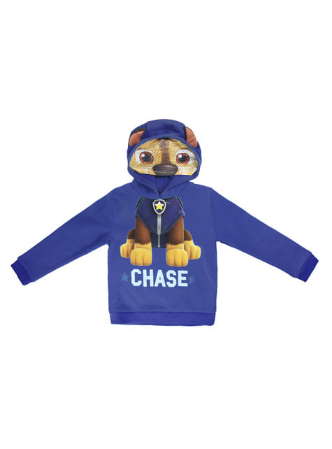 Chase hoodie with ears for kids - Paw Patrol